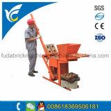 máquina de fabricación de ladrillos de arcilla de enclavamiento manual con la venta de venta