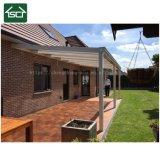Patio de style allemand imperméable toit Pergola couvre en aluminium