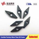 resistencia al desgaste recubiertas inserciones de acero mecanizado CNC
