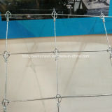固定結び目の塀機械牛動物の塀の金網機械