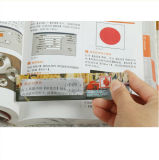 Loupes de promotion 3X 6X PVC Magnifier Card avec règle Hw-801A