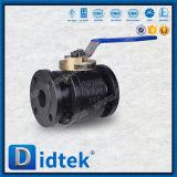 """"""" Il pollice Didtek piccolo 1-1/2 ha forgiato l'acciaio di getto, valvola a sfera di galleggiamento della sede del metallo 150lb con la leva"""