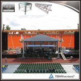 工場価格アルミニウムコンサートの段階のプレハブの屋根のトラス
