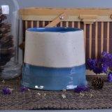 Vasi di ceramica della candela della decorazione della casa della porcellana verniciati colore mezzo