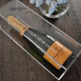 Определите коробку бутылки вина пользы шикарную ясную акриловую для промотирования