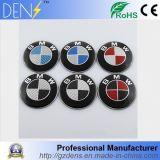Emblemas de encargo del coche de la divisa auto de la fibra del carbón para BMW