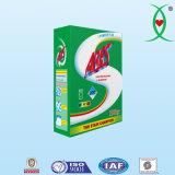 Pó econômico do detergente de lavanderia da qualidade no tamanho diferente do pacote