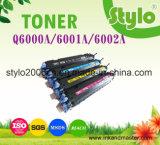 Cartucho de tonalizador Q6000A de LaserJet da cor para o cavalo-força 1600/2600/2605 a preço da fábrica