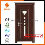 Heiße Verkaufs-Qualitäts-feste hölzerne Tür mit Form-Entwurf Sw-834