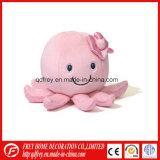La vente chaude bourrée badine le jouet du poulpe d'animal de mer
