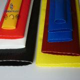 Голубой шланг Layflat полива потека PVC для нагнетать воды и Slurry