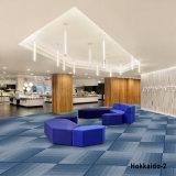 1/10 de tapete modular da telha do tapete do revestimento da HOME do hotel do escritório de projetos Hokkaido-4 com parte traseira do PVC
