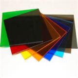 feuille en plastique de solide plat de polycarbonate de 12mm pour les panneaux sains d'épreuve