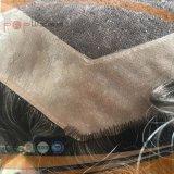 단청 최고 사람의 모발 가득 차있는 레이스 Toupee (PPG-l-0977)