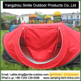 Automatisch oben kampierendes Schutz-Zelt u. im Freienzelt knallen