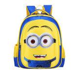 2017 Hot Venda Barato Minions 3D mochila de desenhos animados infantis sacos escolar