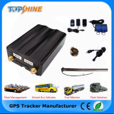 Rastreador GPS do veículo com motor de corte sobre o alarme de velocidade