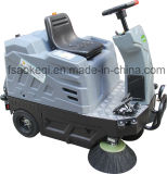 Conduite électrique de balayeuse sur la machine de balayeuse d'étage