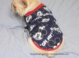 Mickey 잠옷 100%년 면 잠옷 작은 개 셔츠 연약한 복장 애완 동물 외투 의복