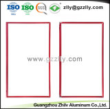 Espulsioni di alluminio di profilo di Insdustrial degli accessori del blocco per grafici della TV