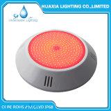 l'indicatore luminoso subacqueo di plastica della piscina LED di 18W 12V RGB/White con resina ha riempito