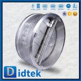 Válvula de verificación de la oblea de la elevación del acero inoxidable de la prueba CF8m de Didtek el 100%