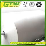 La capa ligera 57GSM ayuna papel seco de la sublimación para la impresora de inyección de tinta del Ancho-Formato