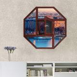 Finestra a forma di speciale di Windows dei portelli di alluminio di prezzi di fabbrica