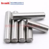 Pinos paralelos de DIN7 DIN6325 de Unharded e do aço inoxidável austenítico