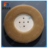 PP Plaque de base ronde brosses de polissage abrasif en nylon