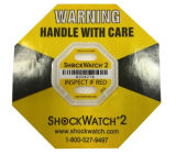 6 modelleer Verschepend Etiket Shockwatch