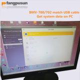 Monitor da bateria da tela de Fangpusun Bmv-700 LCD com cabo para o controlador solar azul da carga de Fangpusun MPPT