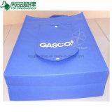عالة رخيصة يطبع ملكيّة اللون الأزرق غير يحاك [فولدبل] حقيبة تسوق شركة نقل جويّ حمل