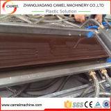 Perfil plástico e de madeira de WPC que faz a máquina