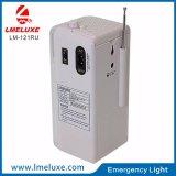 LED SMD recarregável USB Rádio FM luz de emergência
