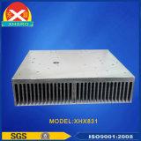 Dissipatore di calore di alluminio di raffreddamento ad aria forzata per la saldatrice