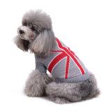 كبل [نيت] رماديّة لون محبوبة مظهر شريكات كلب كنزة