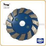 100мм металлическая Бонд алмазного шлифовального круга/пластины для бетона и камня