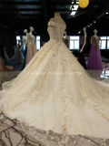 As rendas de venda superior Aoliweiya Beca 1,5 metro comboio vestidos de casamento