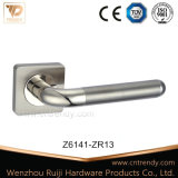 Alliage de zinc aluminium de haute qualité en zamak Poignée du levier de porte (Z6136)
