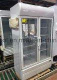 1000L 음료와 음료를 위한 수직 유리제 문 상인 냉각장치