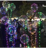 Свет шнура рождества воздушного шара СИД с Poles
