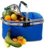 De karretje Geïsoleerdea Koelere Rolling Zak van de Lunch van het Ijs van het Wiel van de Zak van de Picknick Thermische