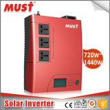 パキスタンの市場のためのACホーム太陽インバーターへの1kVA 2kVA DC