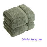 100%年の綿のホテル/屋内浴室/表面/手タオル