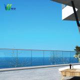 Niedriges Eisen-schwimmendes ausgeglichenes Frameless abgehärtetes Pool-Zaun-Glas