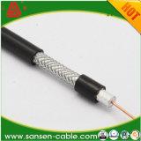 Le tressage de 90 % 18AWG BC Câble coaxial RG6