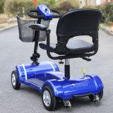 セリウムの証明書を持つ障害者Dl24800-3のためのFoldable電池の移動性のスクーター