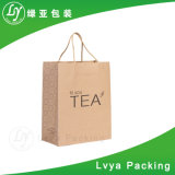 Brown de papier Kraft Food Shopping Sac de transport