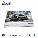 Fabrik-Preis der LCD-videobroschüre für Marke mit Qualität